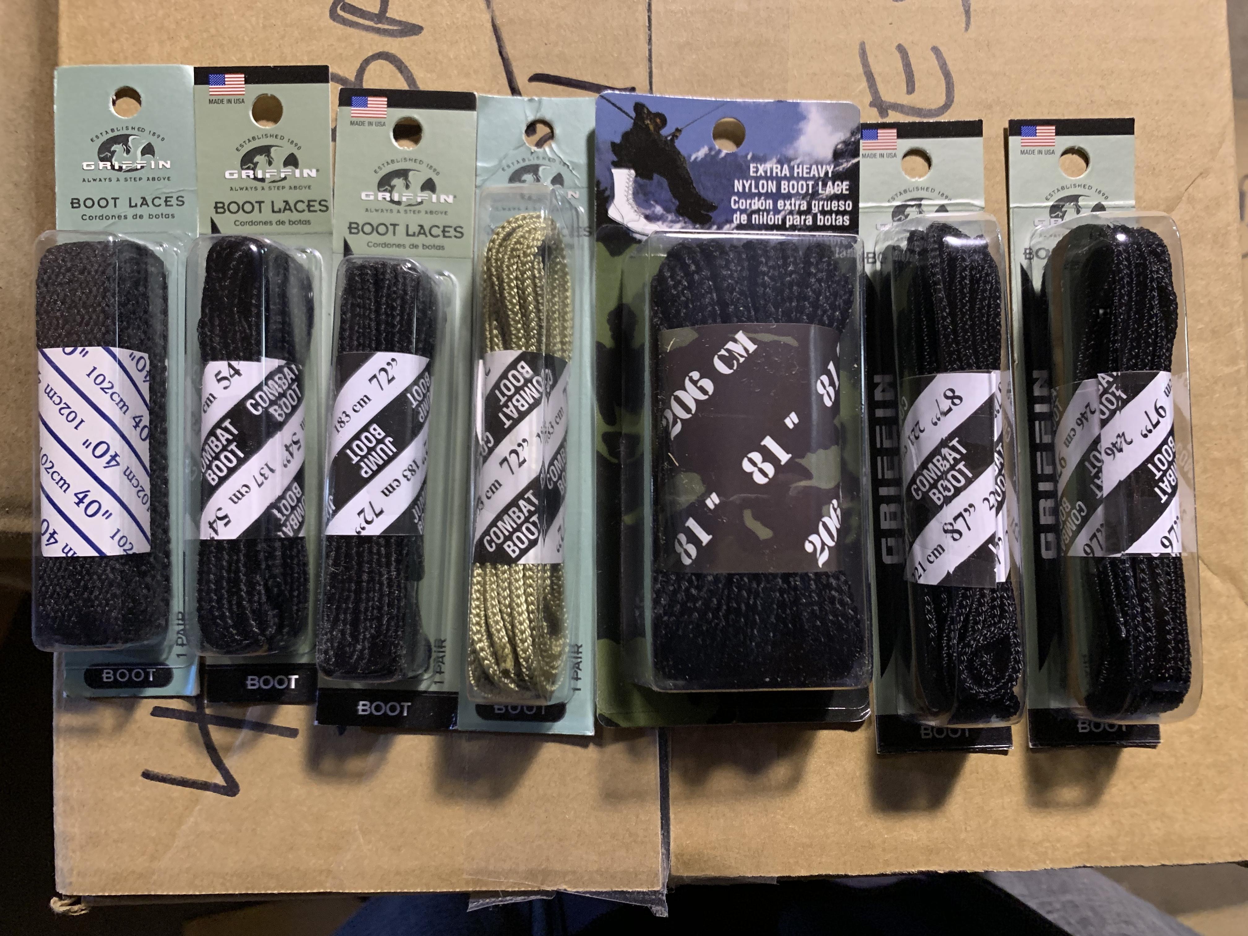 Combat Boot Laces
