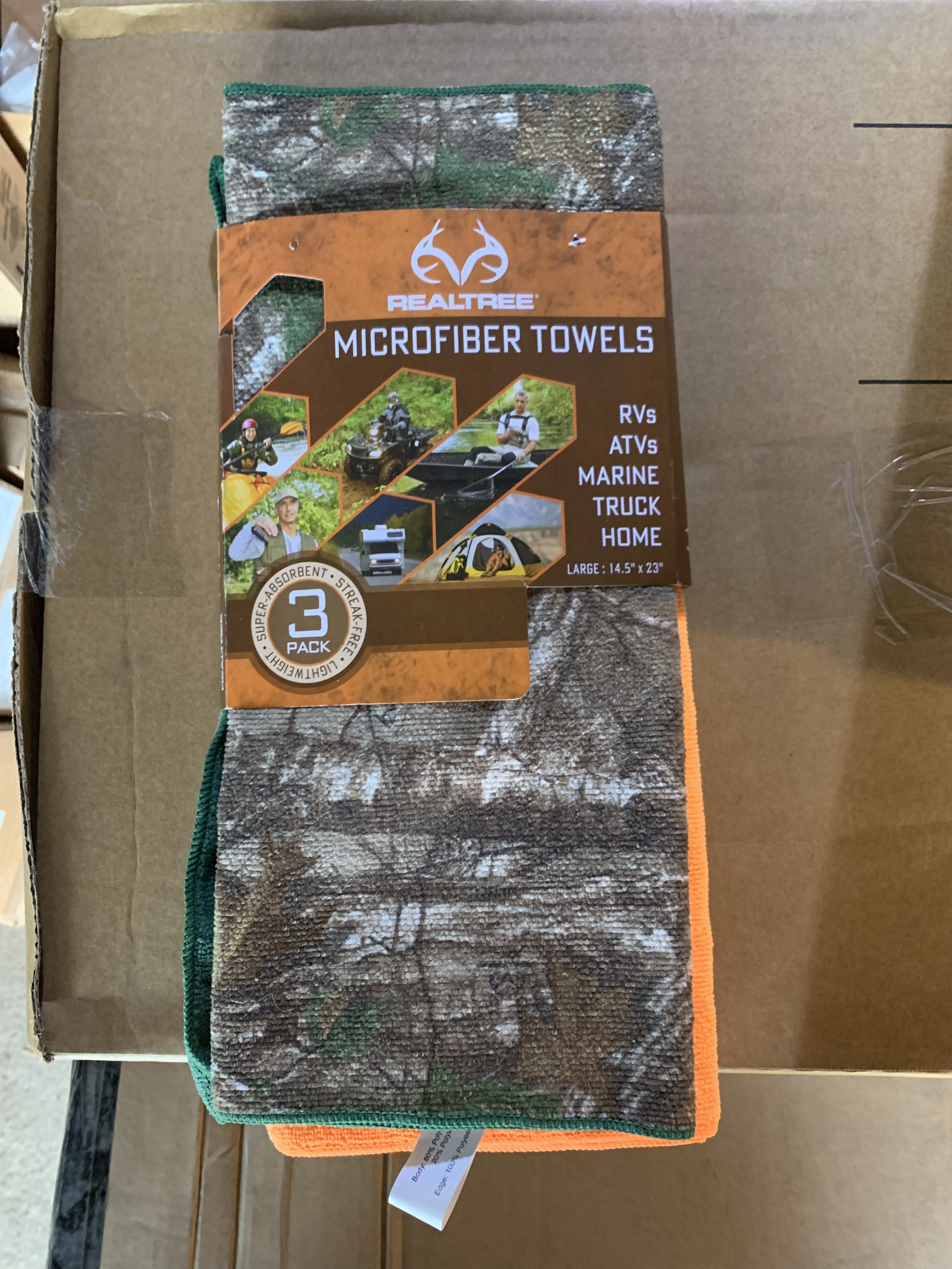 Real Tree Micro Fiber Towels