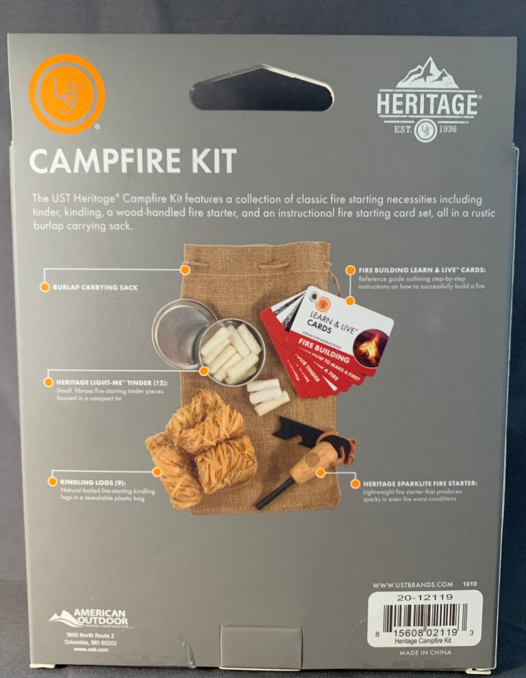 Heritage Campfire Kit