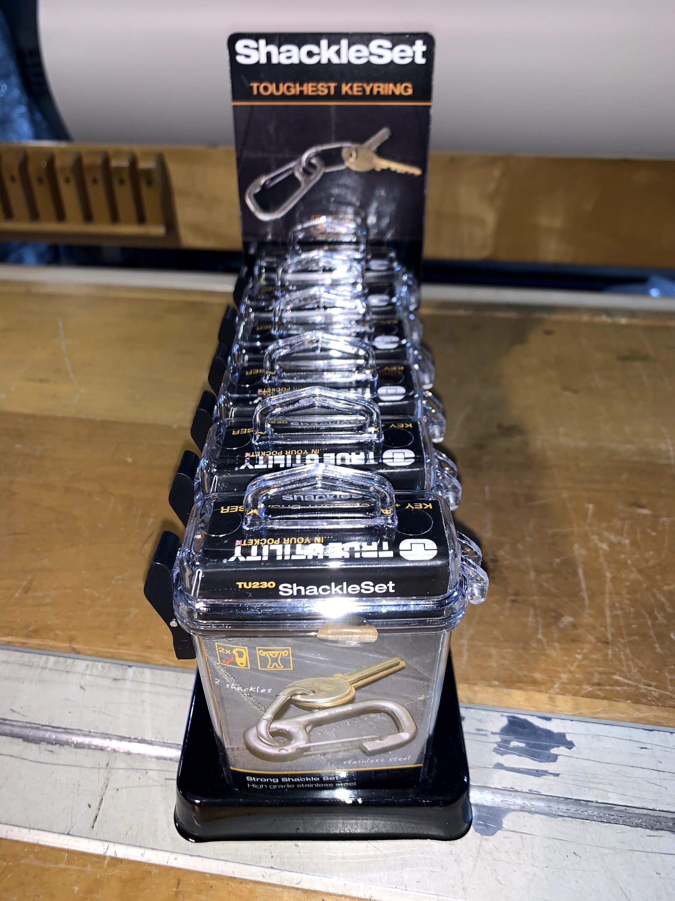 Shackel Set Key Ring