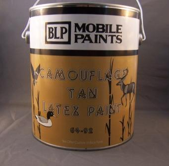 MOBILE TAN LATEX PAINT