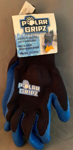 Polar Fleece Grip Gloves