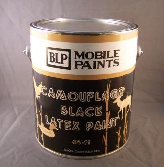 MOBILE BLACK LATEX PAINT