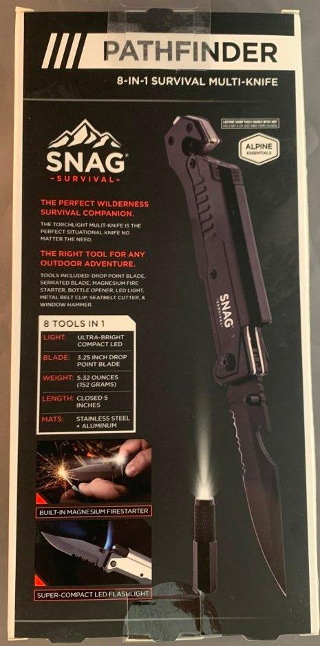 SNAG Survival Knife