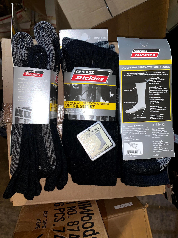 3-Pack Dickies Work Socks