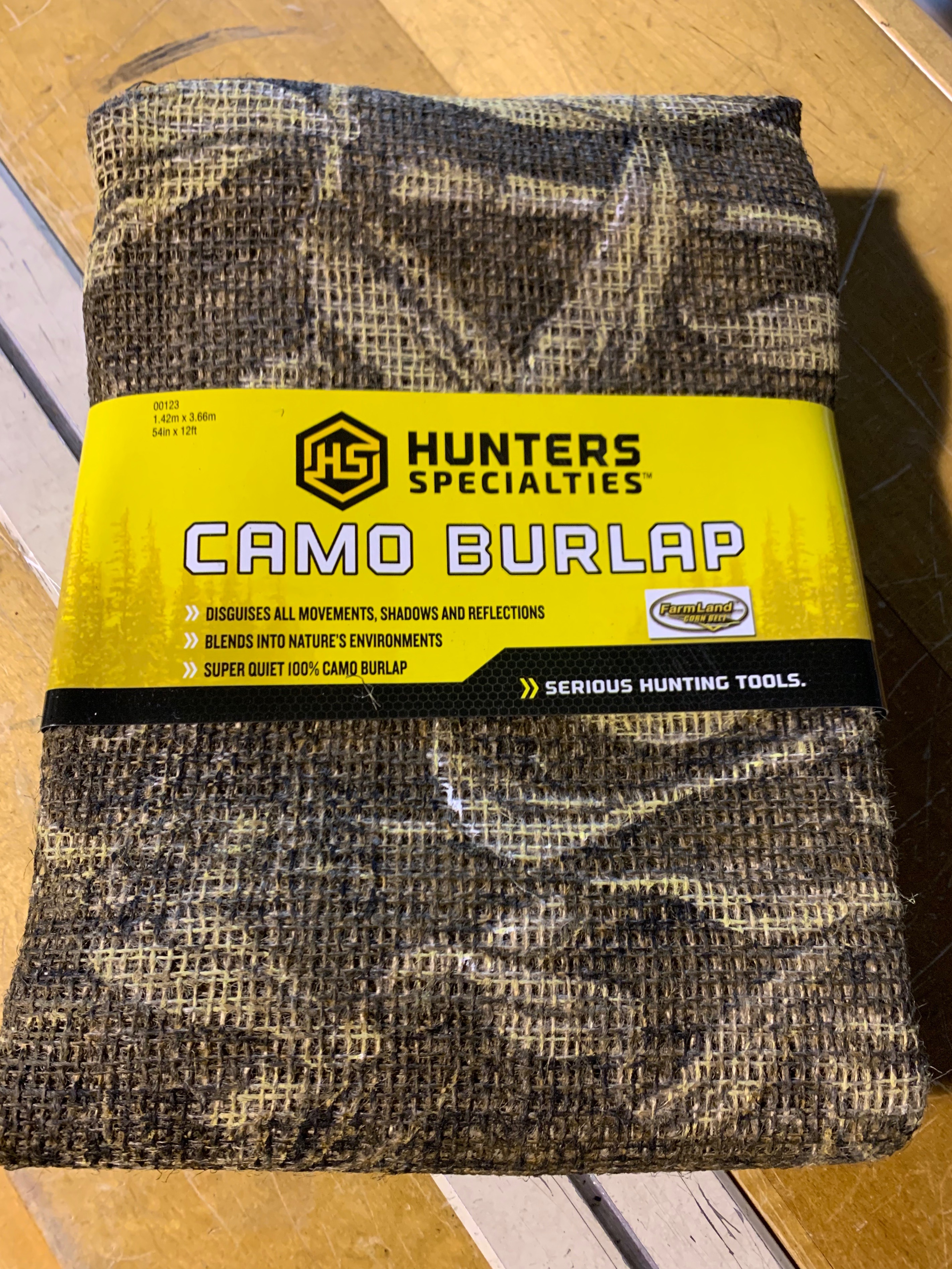 Farmlands Camo Burlap