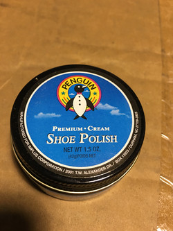 PENGUIN BLACK SHOE POLISH