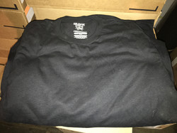 GILDAN BLACK T-SHIRTS