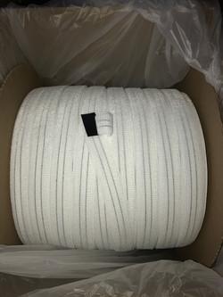 """1.5"""" White Loop Material"""