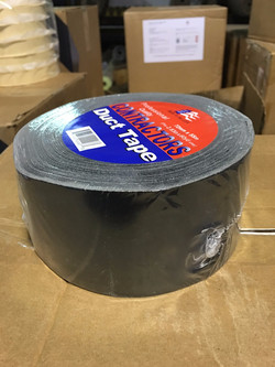 3in BLACK DUCT TAPE
