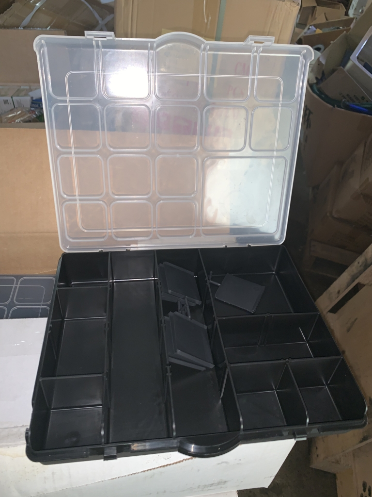 Divided Storage Container