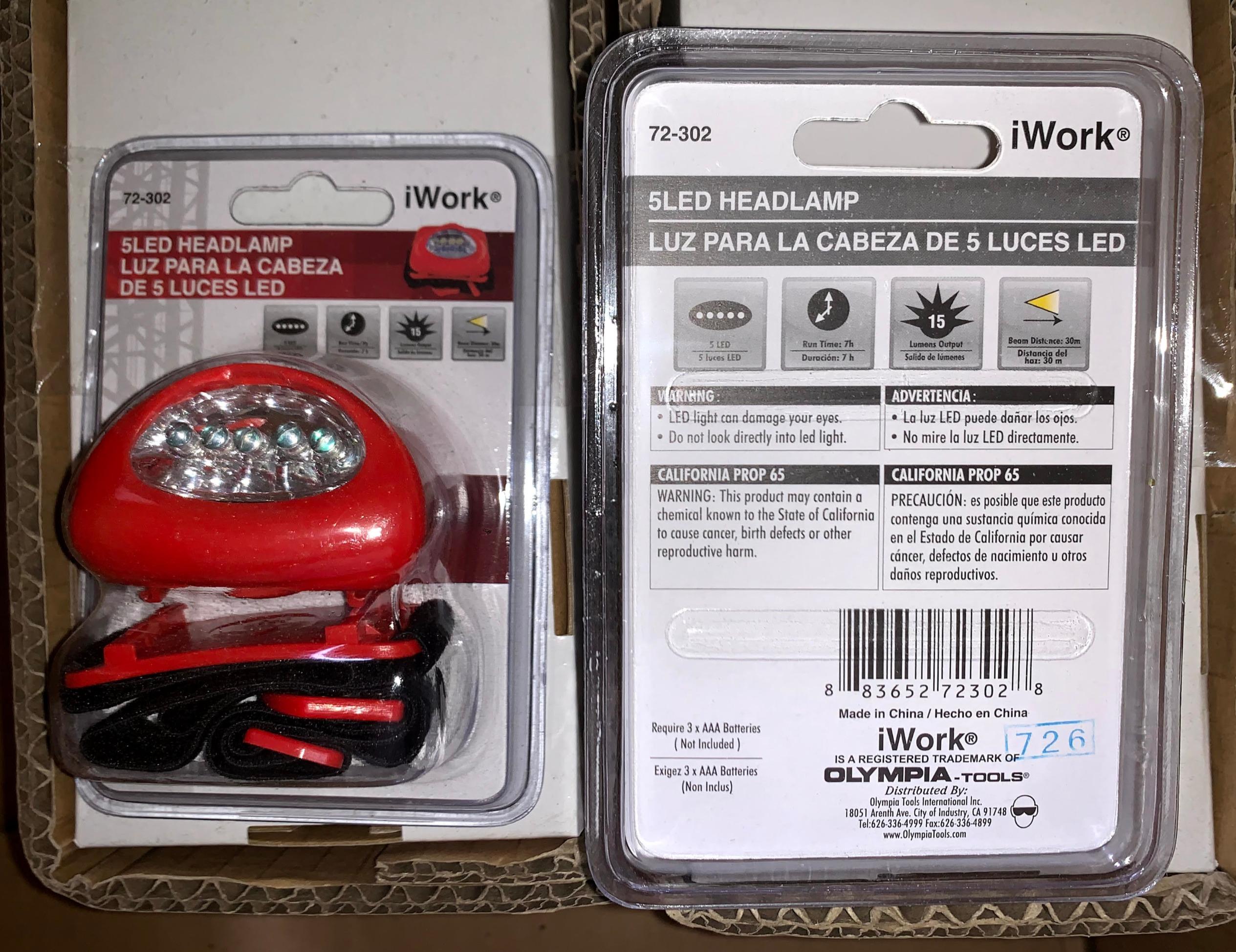 IWork LED Headlamp