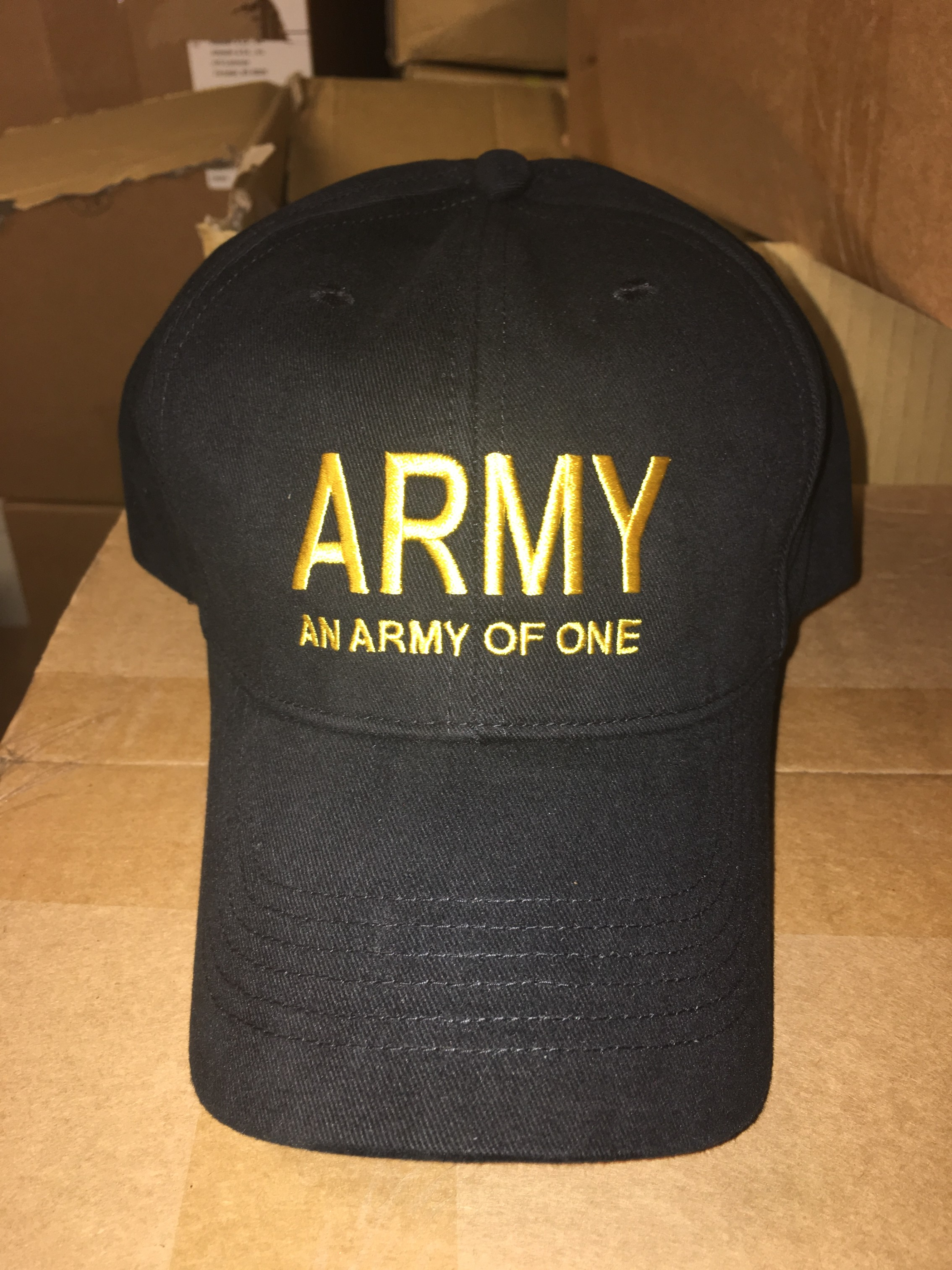 Black Army Of One Hat