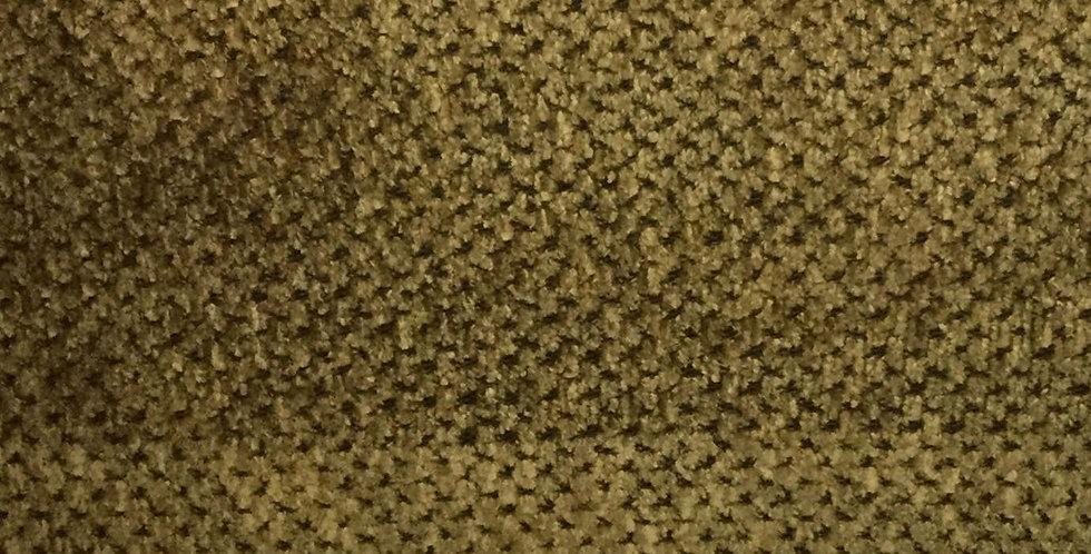 Textured Chenille Gold /Dark Brown