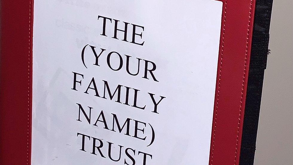 Streamlined Living Trust