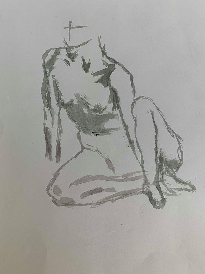 Life Drawing (study) (2016)