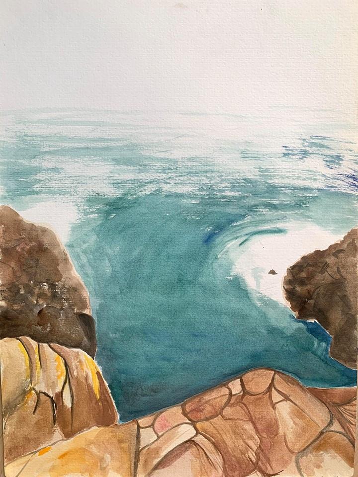 Land Meets Ocean (Kiama) (2017)