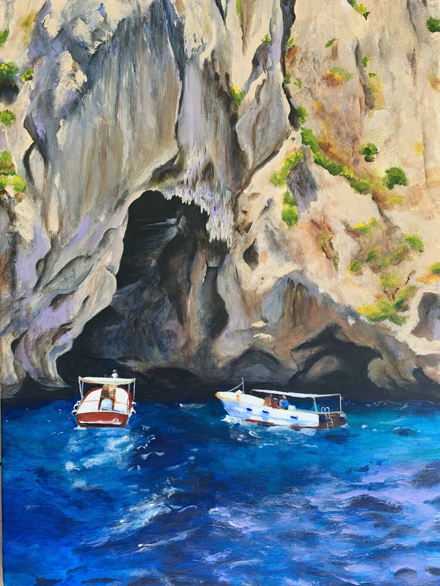 White Grotto, Capri (2018)