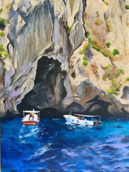 White Grotto, Capri (2018)