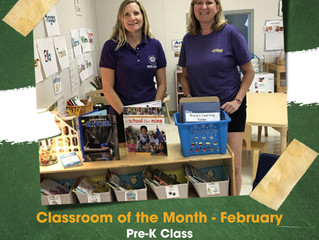 February Classroom of the month
