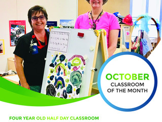 October Classroom of the Month