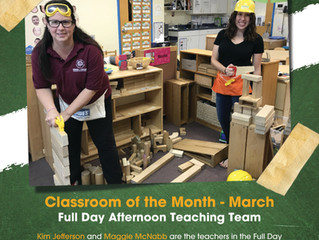 March Classroom of the Month