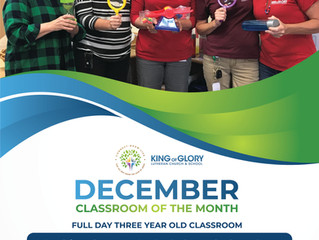 December Classroom of the Month