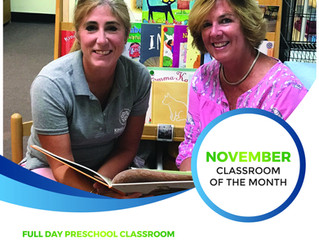 November Classroom of the Month