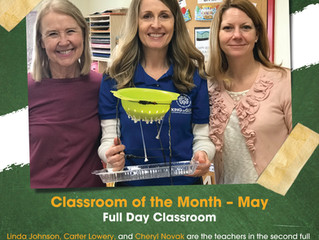 May classroom of the Month