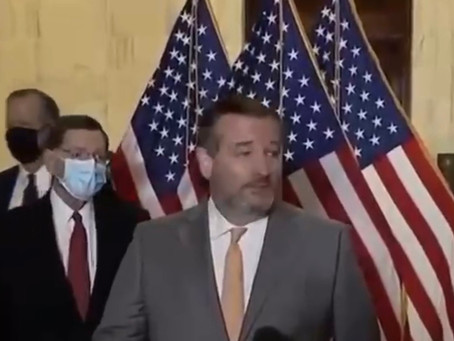 Ted Cruz Refuses To Wear A Mask