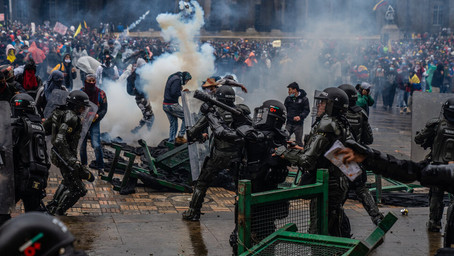 Colombian Government Sparks Wide Spread Riots After 20 People Are Killed During A Protest