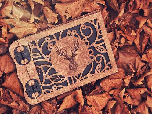 Wooden Photo Album 21x30cm – Deer