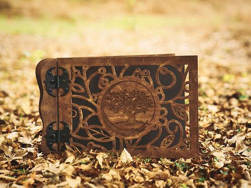 Wooden TREE Photo Album    A4 format 21x30cm   
