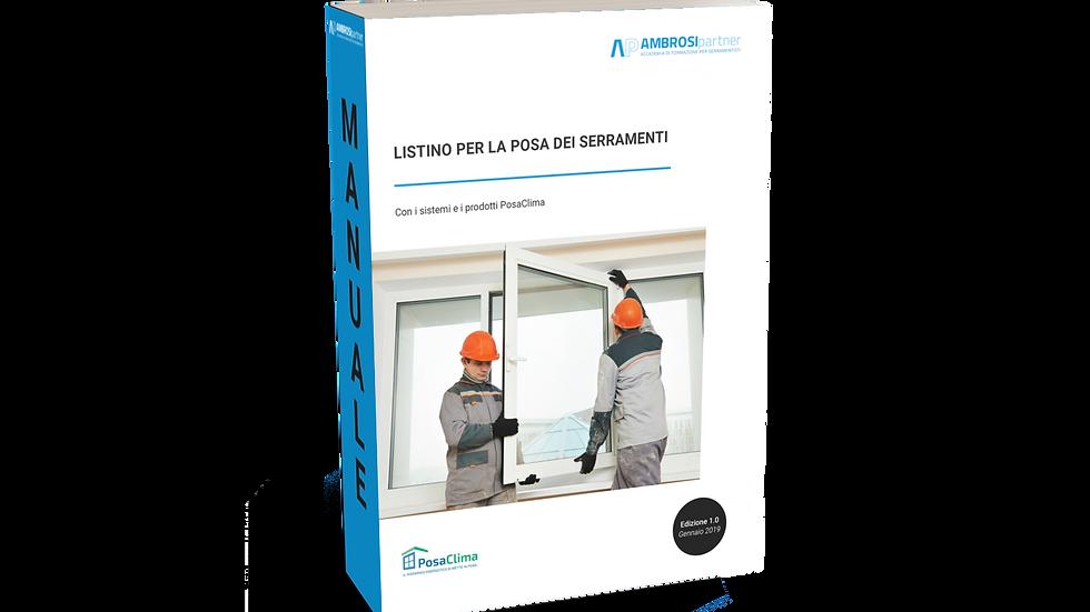 Listino per la posa dei serramenti con prodotti PosaClima (Versione editabile)