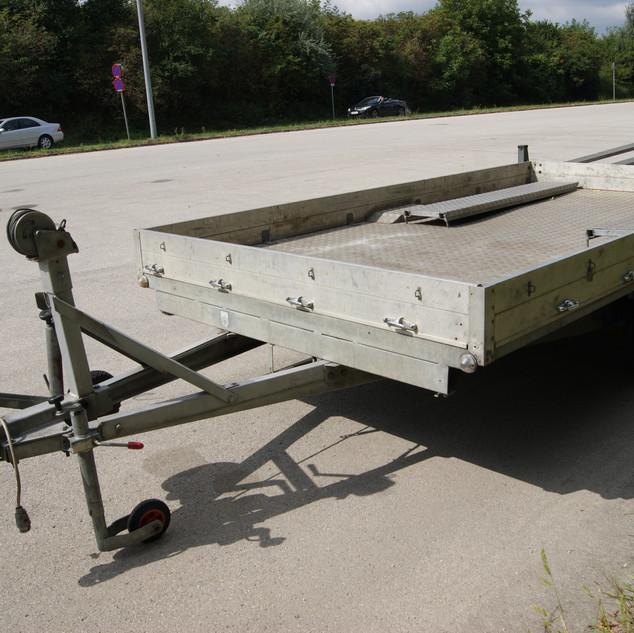 Autotransportanhänger klein2 B&B Anhängerverleih Stockerau