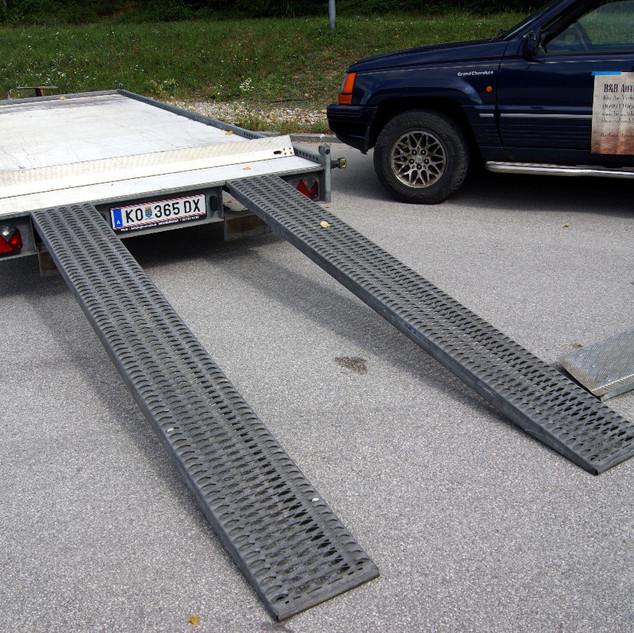 Autotransportanhänger Groß2 B&B Anhängerverleih Stockerau
