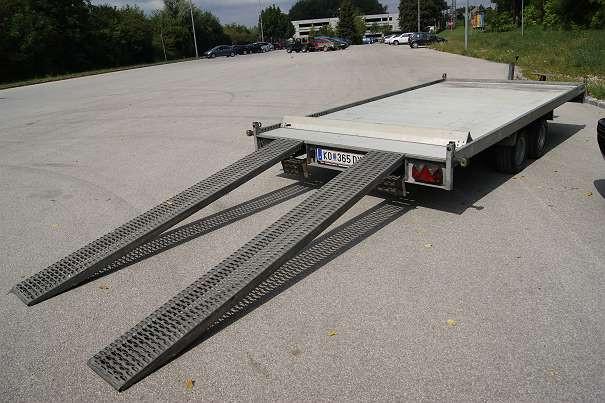 Autotransportanhänger Groß4 B&B Anhängerverleih Stockerau