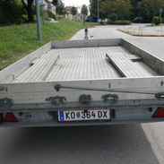 Autotransportanhänger klein4 B&B Anhängerverleih Stockerau