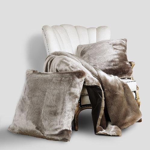Arctic Luxe Faux Fur Collection - Pewter