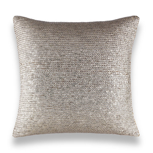"Atlantia Beaded Pillow 20"" Sq."