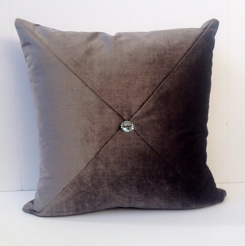 18x18 Tufted velvet pillow