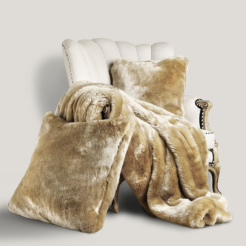 Arctic Luxe Faux Fur Collection - Tan