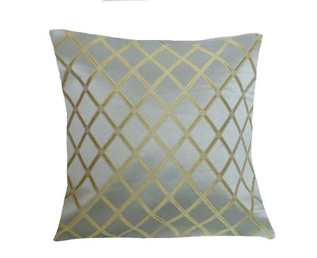 Golden Weave 18x18 Pillow