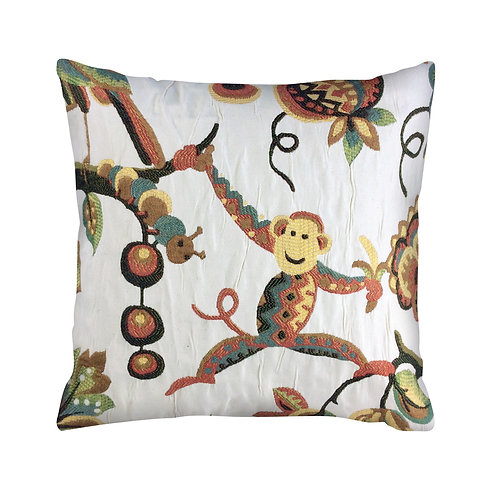 Monkeying Around Pillow