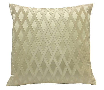 Glenda 18x18 Pillow, Ivory