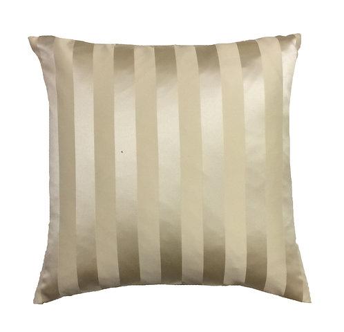 Gold Stripe 18x18 Pillow