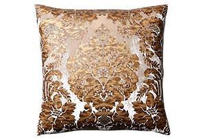 Amelia 24x24 Pillow, Bronze