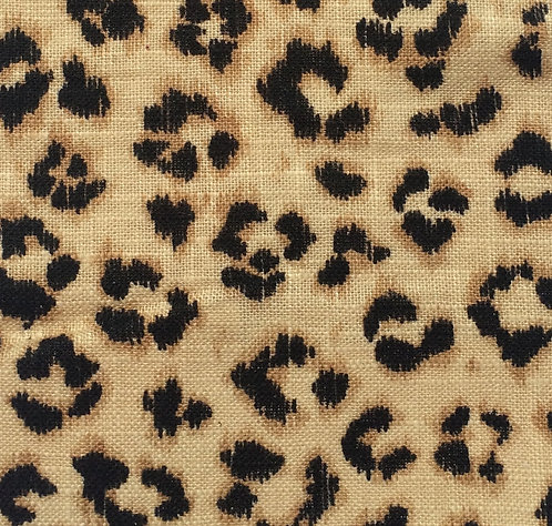 Cheetah Print Panel, multiple colors available
