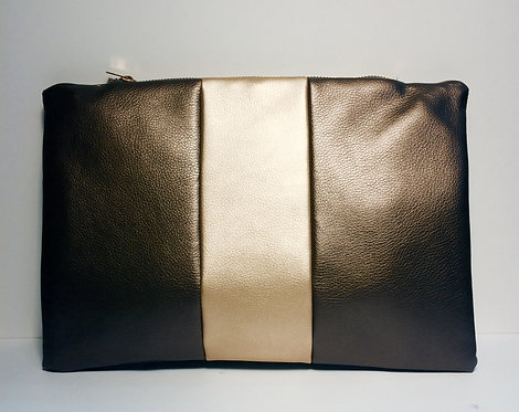Faux Leather Clutch (without monogram)