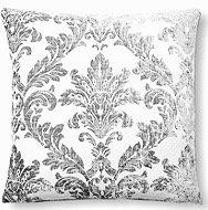 Antoinette 17x17 Pillow, Silver
